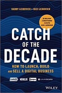 Catch of the Decade By Gabby Leibovich Paperback Like Brand New Free Shipping