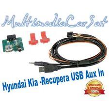 Ripristino Recupero USB AUX IN Interfaccia Modulo Hyundai IX55 SANTA FE 5803