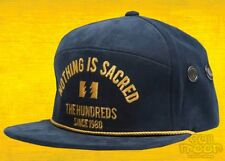 New The Hundreds Save Navy Mens Snapback Cap Hat