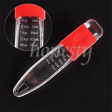 Adjustable Measuring Spoons Cups Kitchen Baking Cooking Tools Teaspoon Measurer