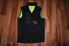 NWT Nike Therma Sphere Max Running Training Vest VOLT 807763 010  SZ S $100
