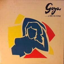 GOYA A Life in Song Placido Domingo PROMO CBS NM+ LP BOOKLET GATEFOLD