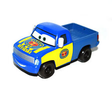 Disney Pixar Cars Diecast Piston Cup Officer Dexter Hoover Blue Yellow Truck