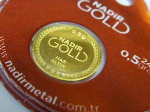 24ct Gold Nadir Coin