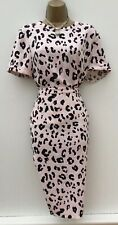 Warehouse Pink Leopard Print Two Piece Size 10 16