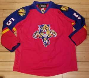Aaron Ekblad Authentic Jersey Reebok Center Ice Florida Panthers NHL Home 56