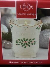 Lenox Holiday Scented Candle Brand New