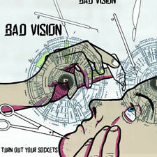 Bad Vision : Turn Out Your Sockets VINYL (2016) ***NEW***