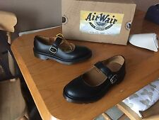 Dr Martens black Indica vintage smooth Mary Jane shoes UK 4 EU 37