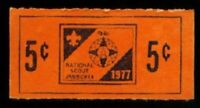 BSA National Jamboree 1977 Trading Post Ticket EXPIRED Moraine State Park PA