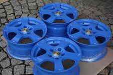 4 Magma Alufelgen Seismo 7x15 ET46 5x112 Babyblau Sharan Alhambra Golf Caddy EOS