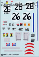 Decal sheet 1/43 Ferrari 512S Spider NART #26 12 Hours Sebring 1971 NEW