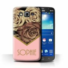 Cover e custodie opaco Per Samsung Galaxy Grand oro per cellulari e palmari
