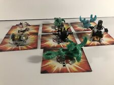 Bakugan Lot With DEFECTS Battle Brawler Fighures Some Rare & High G Damaged
