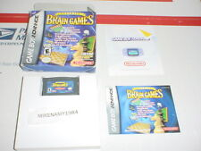 ULTIMATE BRAIN GAMES game complete in box for GAME BOY ADVANCE or DS