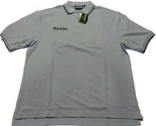 KOOGA CLASSIC RUGBY POLO SHIRT- SKY / NAVY - SIZE LARGE RRP £16.99 *NEW*