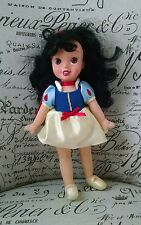 Disney Princess Snow White Doll Soft Body Vinyl Head Costume Collectible