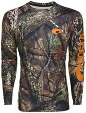 White Pick Size-Free Ship Costa Realtree Edge Camo Long Sleeve T-shirt