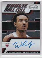 2018-19 Panini Certified Wendell Carter Jr. Rookie Roll Call Auto RC Bulls Auto
