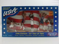 Starting Lineup USA Olympic Basketball Team 1996 Edition Set Two 2 w/Poster NEW
