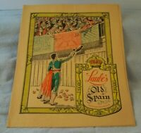 VINTAGE LAUBE'S OLD SPAIN RESTAURANT MENU SEPT 16, 1940 BUFFALO ROCHESTER NY EX