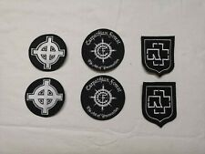 patch ecusson carpathian forest black metal croix celtic cross rammstein