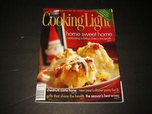 COOKING LIGHT magazine December 1999