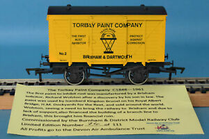 Dapol Torbay Paint Company, Brixham & Dartmouth Ventilated Van Nº 2 - LE of 111
