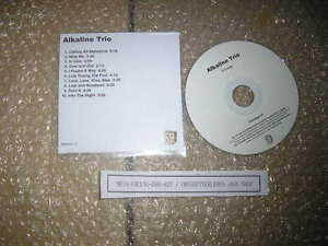 CD Punk Alkaline Trio - Untitled 10 Song (10 Song) Promo COOP