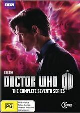 DOCTOR Dr WHO Complete Series Season 7 Part 1 & 2 DVD 7th Seven Box Set BBC R4