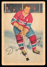 1953 54 PARKHURST #26 DOUG HARVEY VG MONTREAL CANADIENS HOCKEY CARD
