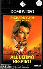 All'ultimo respiro (1983) VHS DomoVideo 1a Ed.  Richard GERE