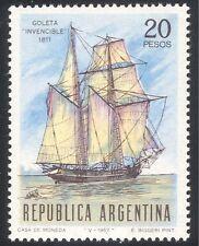 Argentina 1967 Ship/Transport/Nautical/Navy/Boats/Sail/Sailing 1v (n27429)