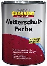 Consolan Profi Wetterschutz-Farbe 10 L Farbauswahl NEUWARE