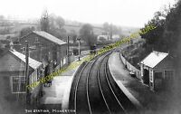 Milverton Railway Station Photo. Norton Fitzwarren - Wiveliscombe. Taunton Line