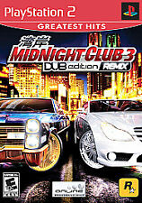 Midnight Club 3 DUB Edition Remix Greatest Hits (Sony PS2, 2006) Pre-owned GPP10