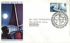 24 JULY 1967 SIR FRANCIS CHICHESTER GPO FIRST DAY COVER PLYMOUTH DEVON SHS (b)