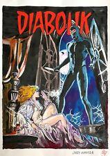 Larry Camarda: Diabolik – Original Mash Up Comics