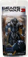 Gears of War 3 Series 3 Savage Theron Action Figure [Black & Silver Faceplate]