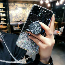 For Apple iPhone Bling Glitter Gel Soft Shockproof TPU Silicone Phone Case Cover
