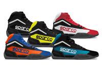 Sparco Gamma KB-4 Kart Karting Racing Track Mid Hi Top Boots Lightweight Shoes
