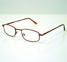 OCCHIALI GRADUATI DA LETTURA PRESBIOPIA STEEL RED +1,50 READING GLASSES
