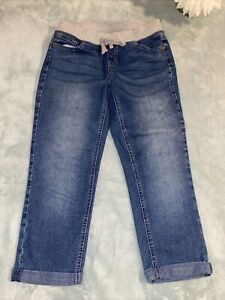 Justice 14 Simply Low Pedal Jeans