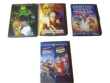 Ben 10: Race Against Time DVD Live the fast and the furry  lot of 4 dvds
