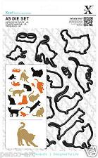Docrafts taglio trasversale 15 PEZZI A5 DIE impostare MIXED GATTI GATTINO mouse Siamese Persiano Gatto
