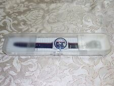 RETRO SWATCH 200 M Scuba Compass Red White Blue  Band Quartz Watch  original Box