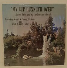 """""""My Cup Runneth Over"""" feat. Peter Tang & Samuel Cheung 33RPM VInyl Record 001"""