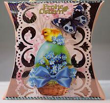 Handarbeit, Geschenkverpackung, Ostern, Osterei, Küken, Schmetterling