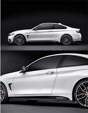 BMW M PERFORMANCE F32 F33 F36 GENUINE SIDE STICKER - FOILS 51142348911 OEM NEW
