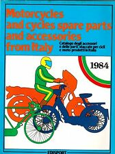 1984 Motorcycles Spare Parts and Accessories from ITALY Catalog EDISPORT Bikes